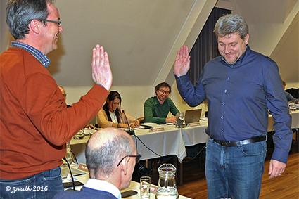 Geert Vertongen legt eed af als gemeenteraadslid