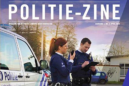 Politie Limburg Regio Hoofdstad verspreidt nieuw infomagazine