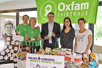Oxfam voert actie voor eerlijke handel in suiker