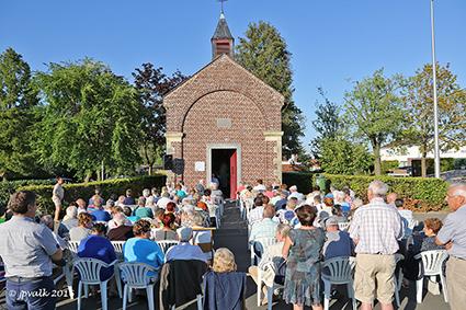 Viering Sint –Rochus in de Sint-Rochuskapel