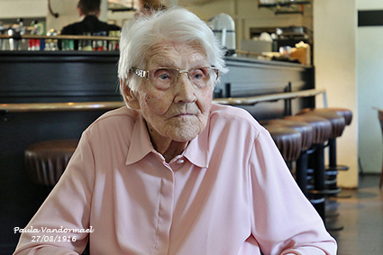 Paula Vandormael is honderd jaar