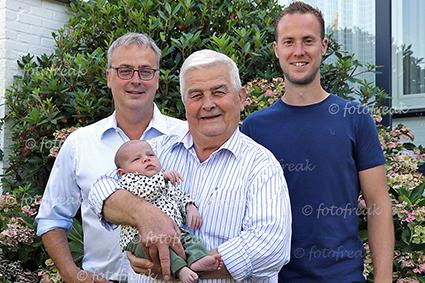 4 Generaties bij familie Steegmans