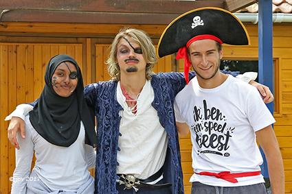 Piraten veroveren Speelplein De Kei Diepenbeek