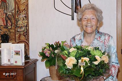106 verjaardagskaarsjes voor oudste inwoner van Diepenbeek