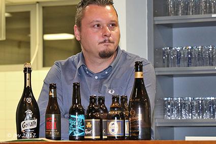 Kwb proeft bieren bij Oktoberfeest