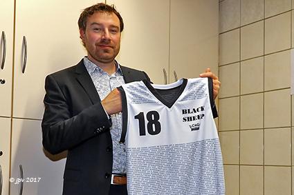 Basketbalclub Black Sheep viert haar 25 jarig bestaan