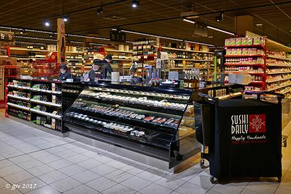 Milieuvriendelijke modernisering bij Carrefour Market Diepenbeek