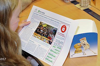 Diepenbeekse leerlingen zamelen kurken in voor een beter milieu