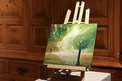 Waar schilderkunst, poëzie en kaligrafie elkaar ontmoeten