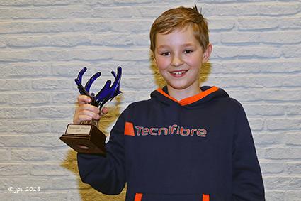 Patrick Vandebosch verlengt zijn titel met Sporttrofee 2017