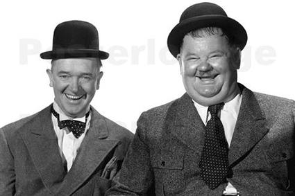Een avond lachen met Laurel & Hardy