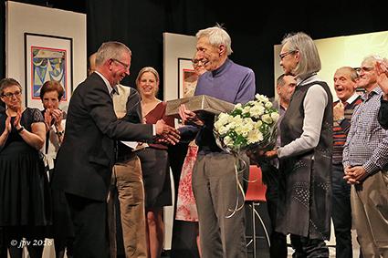 Klimop viert  regisseur René Swartenbroekx