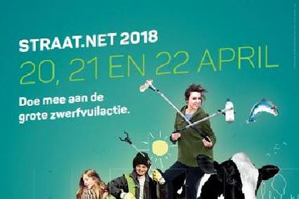 Zwerfvuilactie Straat.net 2018