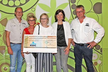 Motorrijders voor Sint-Gerardus schenken 12.450 euro