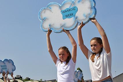Schoolfeest VBS Lutselus vol met wensen en dromen