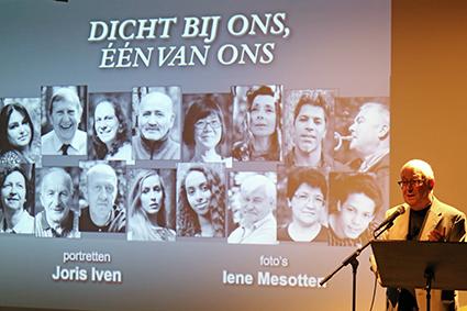Joris Iven stelt bundel portretten van mensen uit Diepenbeek voor