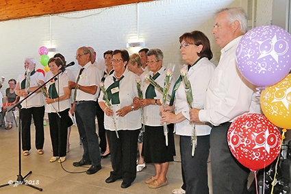 Okra Centrum heeft met Maria Habex 107 als lid een unicum in Vlaanderen