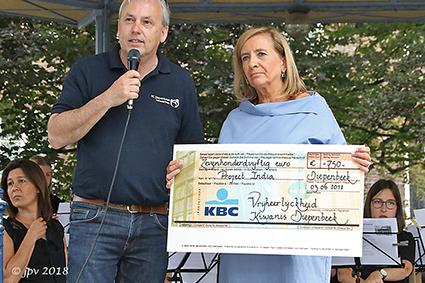 Kiwanisclub Diepenbeek steunt drie projecten