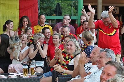 Supporters Rode Duivels zweven tussen teleurstelling en vreugde