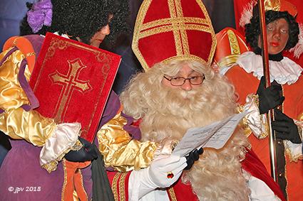 Aankomst van de Sint in Diepenbeek