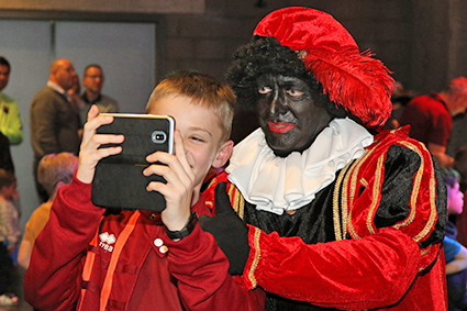 Jeugd van KFC geniet van Sinterklaasfeest