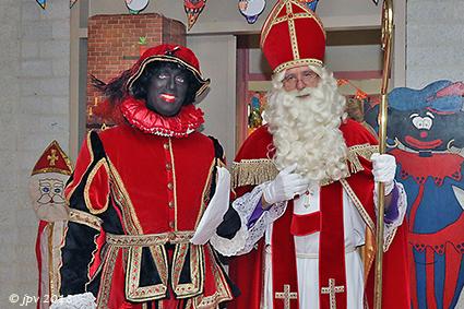Sint maakt noodlanding in Rozendaal