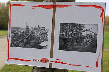 Herdenking van de Groote Oorlog bij Paleis en PSD