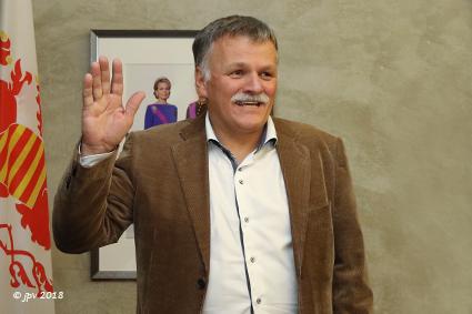 Rik Kriekels legt eed af als 18de burgemeester