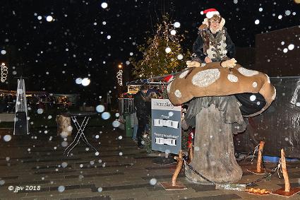 Wind en regen sfeerbrekers voor Kerstmarkt Servaasplein