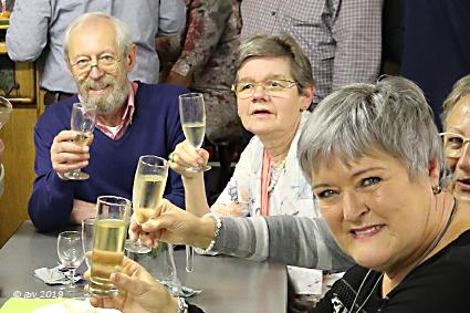 """Wijnmakersgilde """"De Bogaerd"""" heft het glas op 2019"""