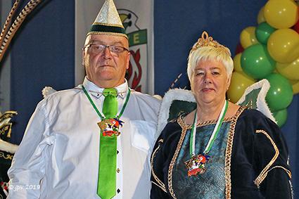 Robert I en Denise II seniorenprinsenpaar 2019