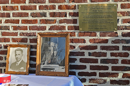 Herdenking 75 jaar collaboratiemoord op Dr Jozeph Grouwels en zoon Yvan