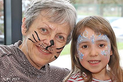 Workshop grimeren voor grootouders en kleinkinderen