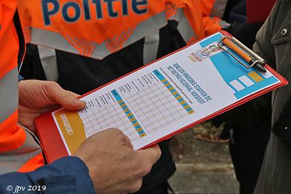 Het Grote Voetgangersexamen voor het vierde leerjaar Rooierheide.
