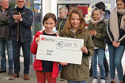 Paleis steunt vzw ORPER Diepenbeek