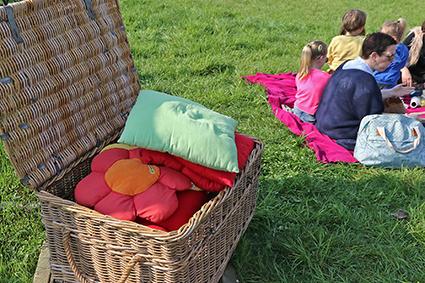 Bloesempicknick in de Keizelboomgaard