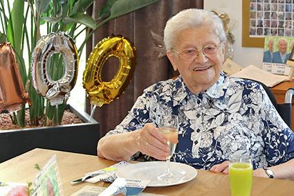 100 Jarige Zuster in wzc Rooierheide