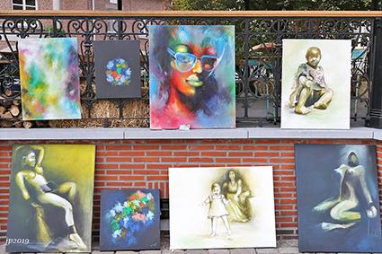 Kunst bij Kioskkafee