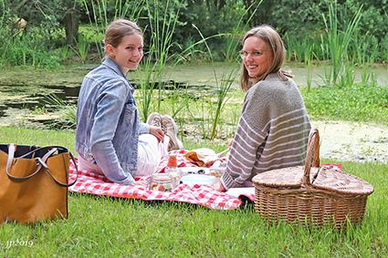 Gezellig picknicken in het Vegan Vijverkafee