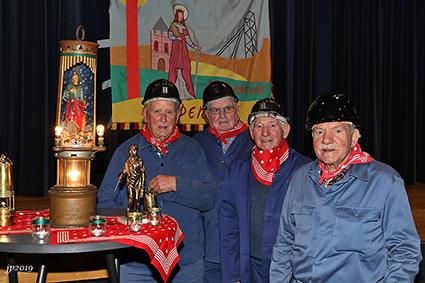 Mijnwerkers Rooierheide houden 21ste Sint-Barbaraviering