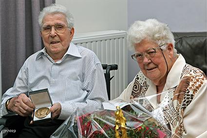 Martens Jozef (89) en Colemont Elza (88) vieren briljant huwelijk