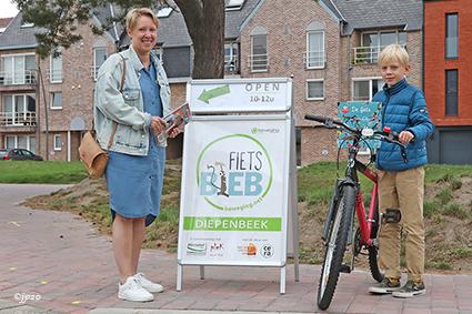 Fietsbieb Diepenbeek verwelkomt 250ste gebruiker