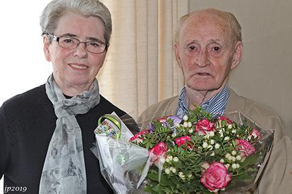 Diamant voor Jean Wolfs en Augusta Pecquet