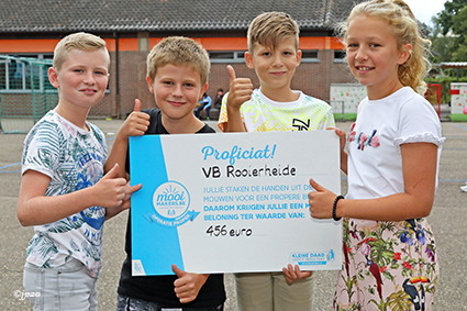 Propere start voor Vrije Basisschool Rooierheide