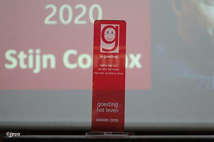Stijn Coninx ontvangt eerste goesting-award