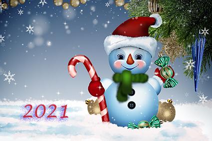 Onze beste wensen voor 2021