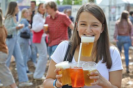 Sfeervol Boer zoekt Bier festival