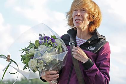 Ganzestraat geeft Mieke Gorissen een verdiende viering